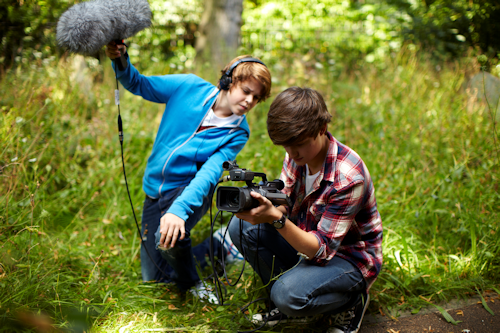 Filming holiday clubs and parties
