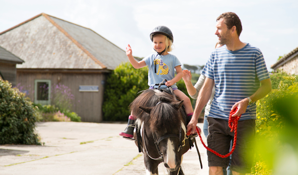 Child friendly farm holidays