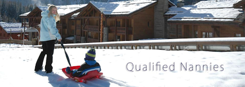 Nannies at skiing resorts