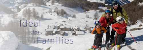 Ideal skiing holidays for families