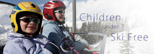 KIds go free skiing holidays
