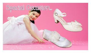 Communion dresses and shoes for girls