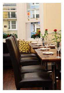 Hotel restaurant in Brighton