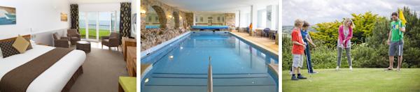 Child friendly resort with indoor pool