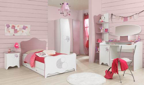 Girls and boys beds