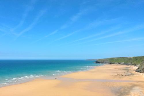 Sandy beaches in Cornwall
