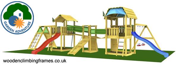Children's garden climbing frames