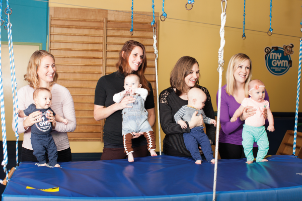 Gym for babies and toddlers