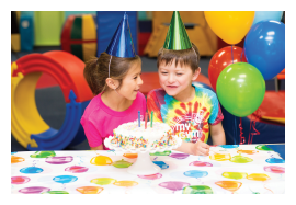 Birthday party organisers for toddlers and young children