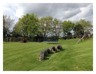 Children's playground in Wood Farm Holidays