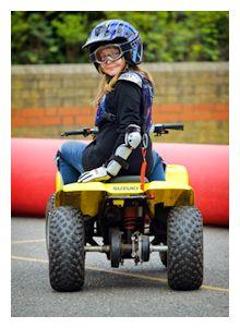 Quad bike activities for kids