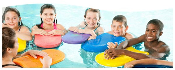 Swimming classes for babies and children