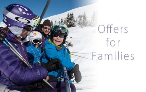 Skiing holidays in France for families