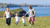 Toddler friendly hotel in Cornwall