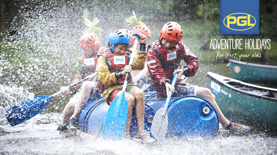 Adventure holidays for kids with PGL