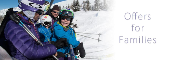 Skiing holidays with children