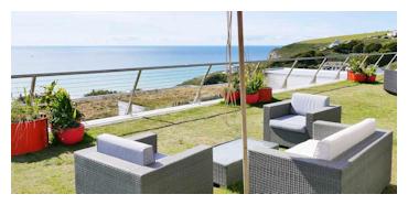 Child friendly hotel in Cornwall near a beach