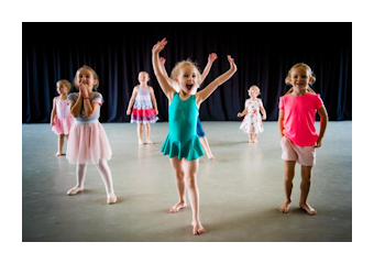 Children's summer holiday dance classe with RAD