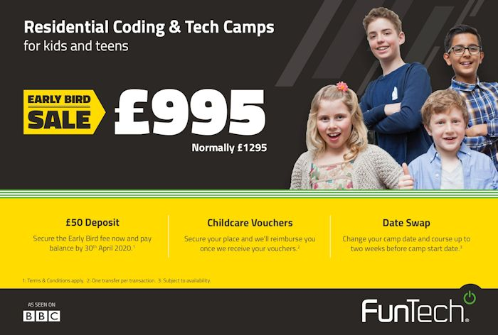 Children's Residential Tech Camps