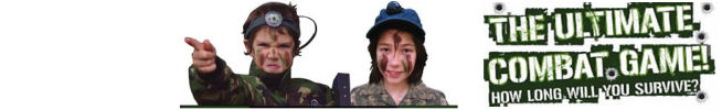 Children's Paintballing Sites in UK