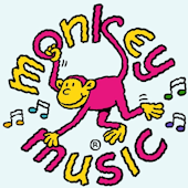 Monkey music activity groups for toddlers